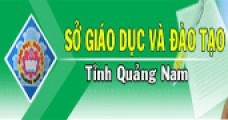 Sở GD&ĐT Quảng Nam